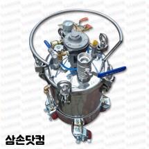 SUS304 스텐압송탱크 자동 에어모타교반기 20L .40L, 60L 80L